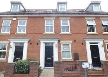 Thumbnail 4 bed town house to rent in Recreation Villas, Cross Street, Chesterfield