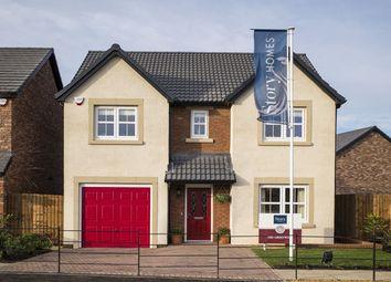 Thumbnail 4 bedroom detached house for sale in Greenwich, Waterside, Cottam Way, Cottam, Preston
