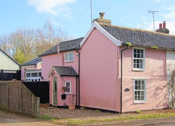 Thumbnail 3 bed cottage for sale in Elmswell Road, Great Ashfield, Bury St. Edmunds