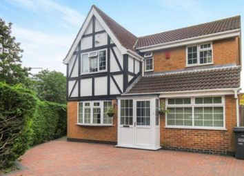 Thumbnail 4 bed detached house for sale in Mallard Drive, Syston, Leicestershire