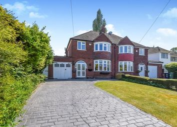 Thumbnail 3 bed semi-detached house for sale in Lodge Road, Walsall, West Midlands, .
