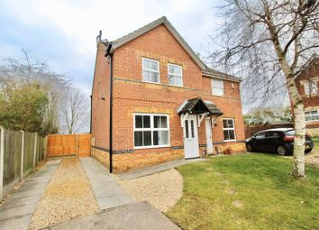 Thumbnail 3 bed semi-detached house for sale in Lupin Road, Glebe Park, Lincoln - No Onward Chain