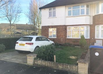 Thumbnail 2 bedroom flat to rent in Lyndhurst Gardens, Enfield