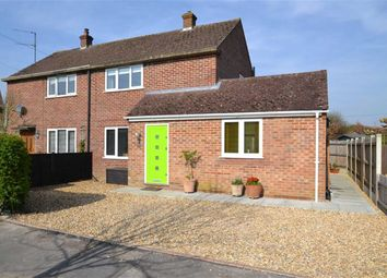 Thumbnail 2 bed semi-detached house for sale in Kingsley Close, Shaw, Newbury, Berkshire