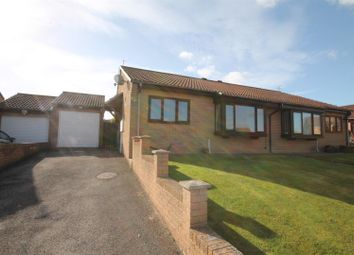 Thumbnail 2 bed semi-detached bungalow for sale in Maple Court, Toft Hill, Bishop Auckland