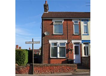 Thumbnail 3 bedroom end terrace house for sale in Gladstone Road, Ipswich
