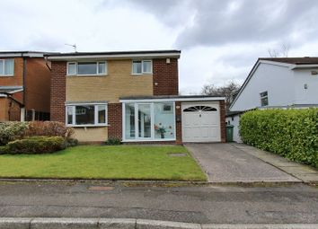 Thumbnail 3 bed detached house for sale in Hey Croft, Whitefield, Manchester
