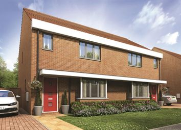 "Thumbnail 3 bed semi-detached house for sale in ""The Hatfield"" at Thomas Bata Avenue, East Tilbury, Tilbury"