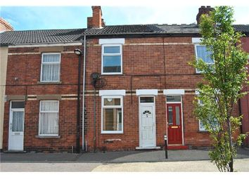 Thumbnail 3 bed terraced house to rent in Percival Street, Scunthorpe