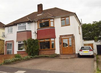Thumbnail 3 bed semi-detached house for sale in Heathwood Gardens, Swanley