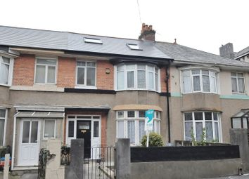 5 bed terraced house for sale in Queens Road, Lipson, Plymouth PL4