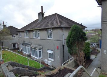 Thumbnail 1 bed flat to rent in Hawkinge Gardens, Plymouth, Devon