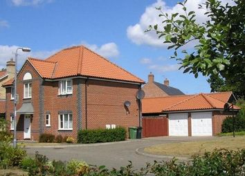 Thumbnail 4 bedroom detached house to rent in The Wrens, Thetford