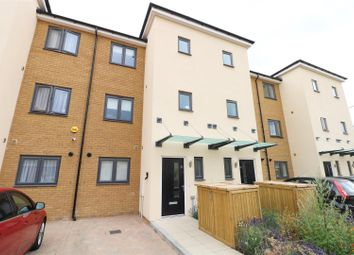 Thumbnail 3 bed town house to rent in Hindmarsh Crescent, Northfleet, Gravesend