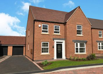 "Thumbnail 4 bedroom detached house for sale in ""Holden"" at Beggars Lane, Leicester Forest East, Leicester"