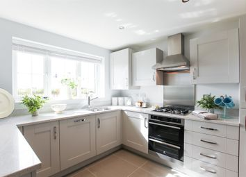 """Thumbnail 4 bed semi-detached house for sale in """"The Leicester """" at Carsons Drive, Great Cornard, Sudbury"""