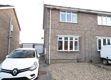Thumbnail 2 bed semi-detached house for sale in Lambourne Rise, Scunthorpe
