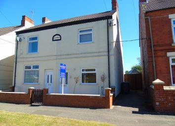 Thumbnail 3 bed semi-detached house to rent in Wire Lane, Newton, Alfreton
