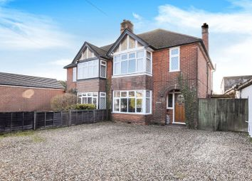 Thumbnail 3 bed semi-detached house for sale in Sherfield Road, Bramley, Tadley