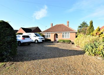 Thumbnail 3 bed detached bungalow for sale in Melton Road, Wymondham