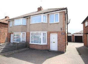 Thumbnail 3 bed semi-detached house to rent in Hemlock Avenue, Huntington, York