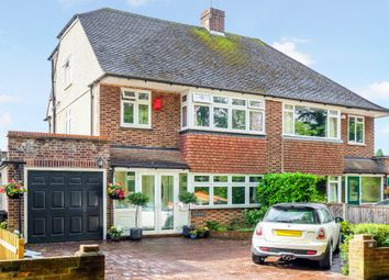 Thumbnail 4 bed semi-detached house for sale in Broke Farm Drive, Pratts Bottom, Orpington