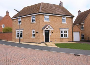 Thumbnail 4 bed detached house for sale in Two Pike Leys, Coton Park, Rugby