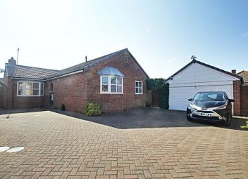 Thumbnail 3 bed detached bungalow for sale in Chaytor Close, Hedon, Hull