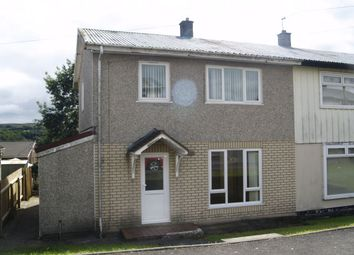 Thumbnail 3 bed semi-detached house to rent in Bryncelyn, Nelson, Treharris