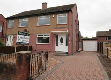Thumbnail 3 bed semi-detached house for sale in Eden Park Crescent, Off Victoria Road, Carlisle, Cumbria