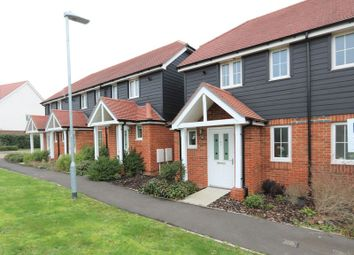 Thumbnail 1 bed end terrace house for sale in Applin Road, Bishopdown, Salisbury