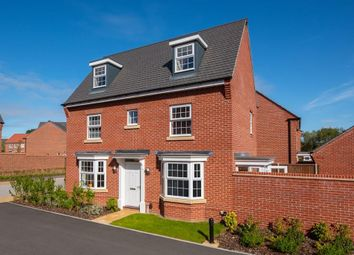 """Thumbnail 4 bed detached house for sale in """"Hertford"""" at Alton Way, Littleover, Derby"""