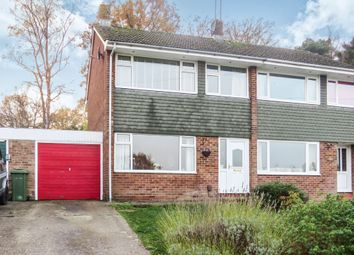 Thumbnail 3 bedroom semi-detached house for sale in Cedar Crescent, North Baddesley, Southampton