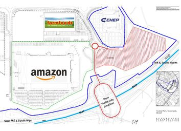 Thumbnail Land for sale in Motorway Development Opportunity, Central Park, Western Approach, Severnside, Bristol, Avon