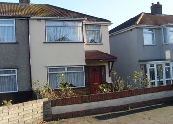 Thumbnail 3 bed semi-detached house to rent in Dagenham Road, Romford