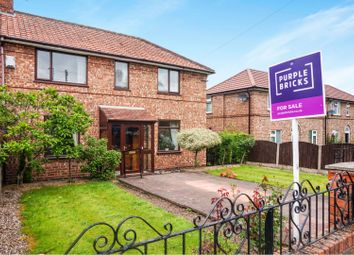Thumbnail 3 bedroom semi-detached house for sale in Priory Road, Altrincham