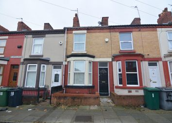 Thumbnail 2 bed terraced house to rent in Crofton Road, Tranmere, Birkenhead