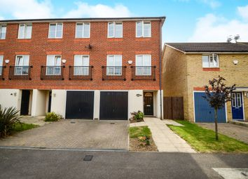 Thumbnail 4 bed town house for sale in Edson Close, Leavesden, Watford