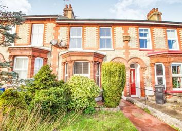 Thumbnail 3 bed terraced house for sale in Folkestone Road, Dover, Kent, .