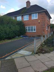 Thumbnail 3 bed end terrace house to rent in Nesscliffe Grove-, Erdington Birmingham