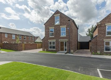 Thumbnail 4 bed detached house for sale in Holly Grove, Thorpe Willoughby, Selby, North Yorkshire
