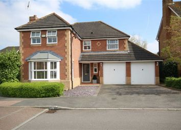 Thumbnail 4 bed detached house for sale in Ashdown Way, Taw Hill, Swindon
