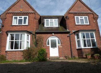 Thumbnail 5 bed detached house to rent in Watling Street, Dordon, Tamworth