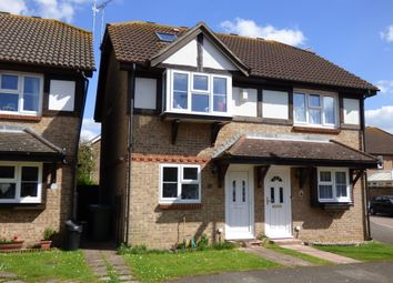 Thumbnail 3 bed semi-detached house for sale in Grassmere Close, Littlehampton