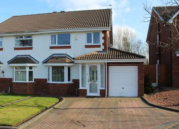 Thumbnail 3 bed semi-detached house for sale in Litchborough Grove, Whiston, Prescot