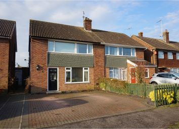 Thumbnail 4 bed semi-detached house for sale in Glebe Close, Pitstone