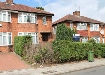Thumbnail 3 bed semi-detached house to rent in Honeypot Lane, Stanmore