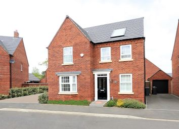 Thumbnail 4 bed detached house for sale in Holland Crescent, Ashby-De-La-Zouch