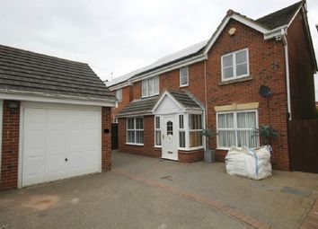 Thumbnail 4 bed detached house for sale in Buttercup Close, Corby
