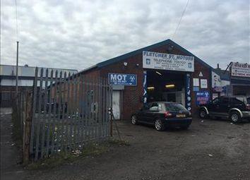 Thumbnail Commercial property for sale in Fletcher Street Motors, Fletcher Street, Farnworth, Bolton